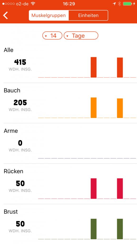 Gym Hero Fitness-App