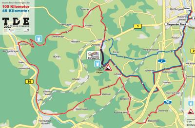 Tour d'Energie - Strecke