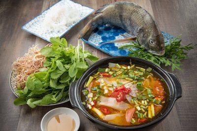 Fischpfanne mit Kokosmilch