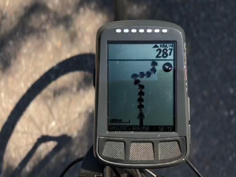 Wahoo Elemnt Bolt Navigation
