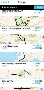 Komoot-Routenplaner