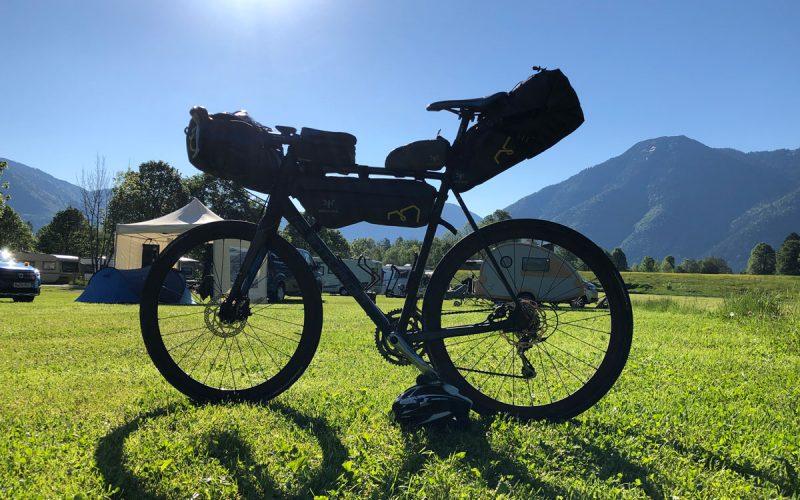 Abreise bei schönstem Bikepacking-Wetter