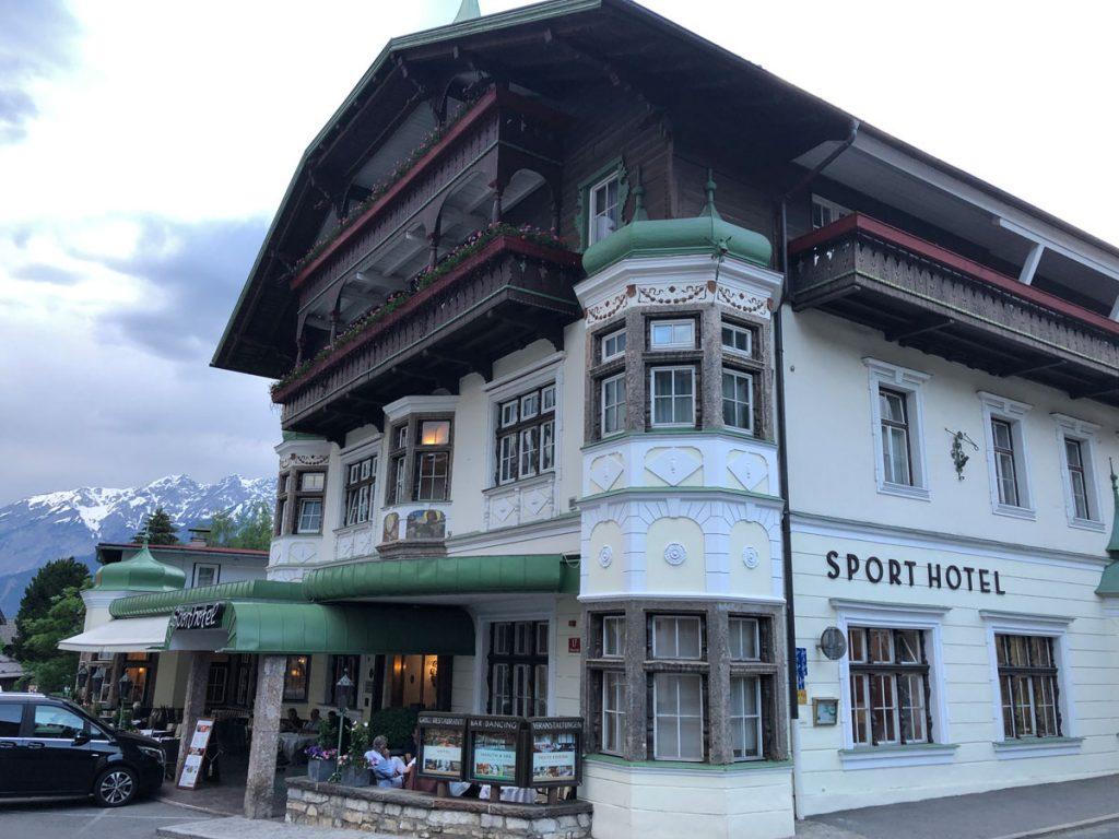 Das beste Hotel der Tour