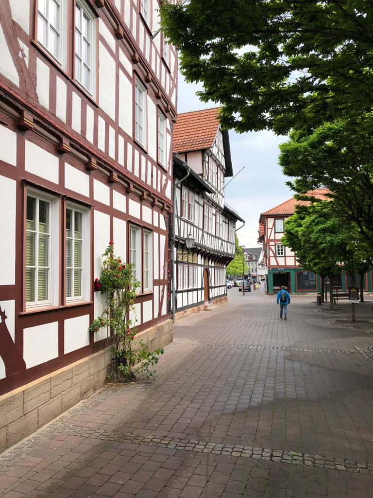 Fachwerk in Eschwege