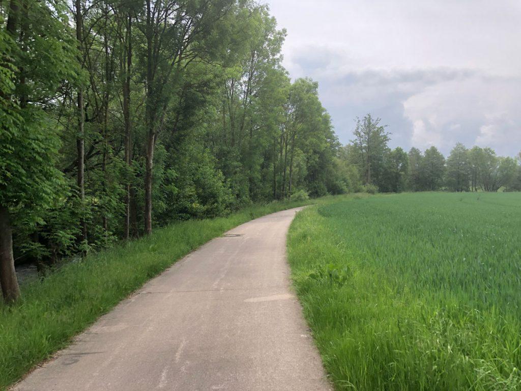 Endlich schöne Radwege