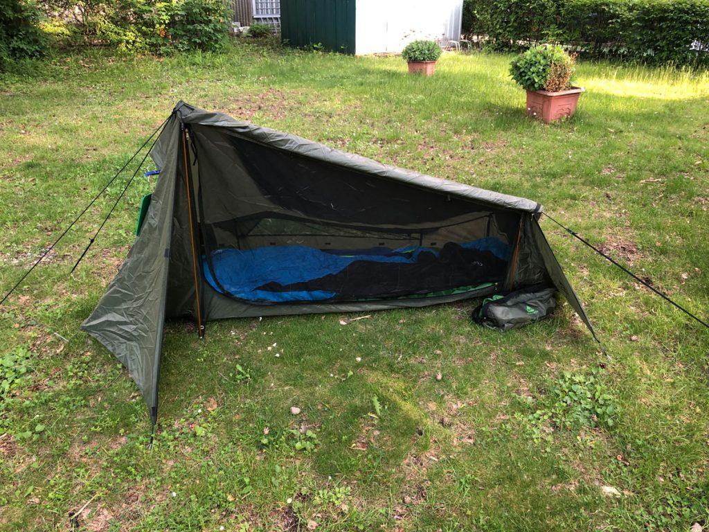 Mein Ein-Mann Zelt