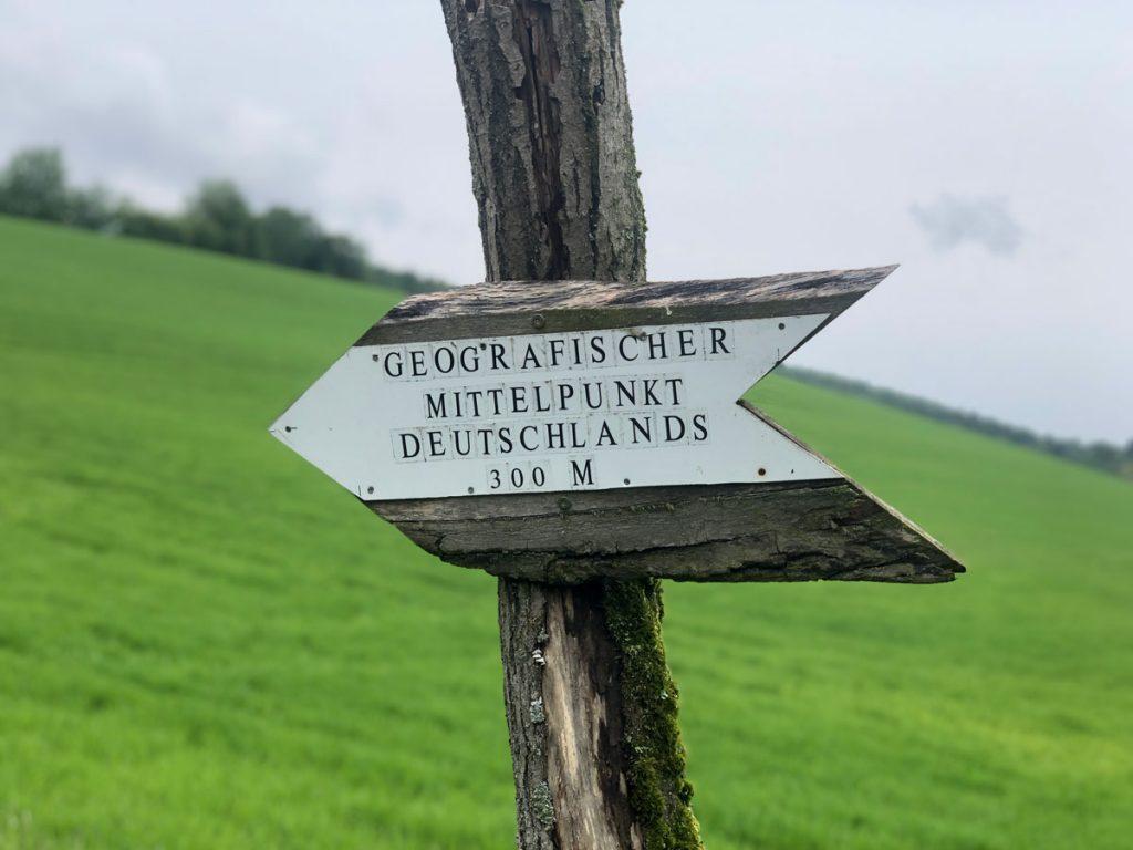 Geografischer Mittelpunkt Deutschlands