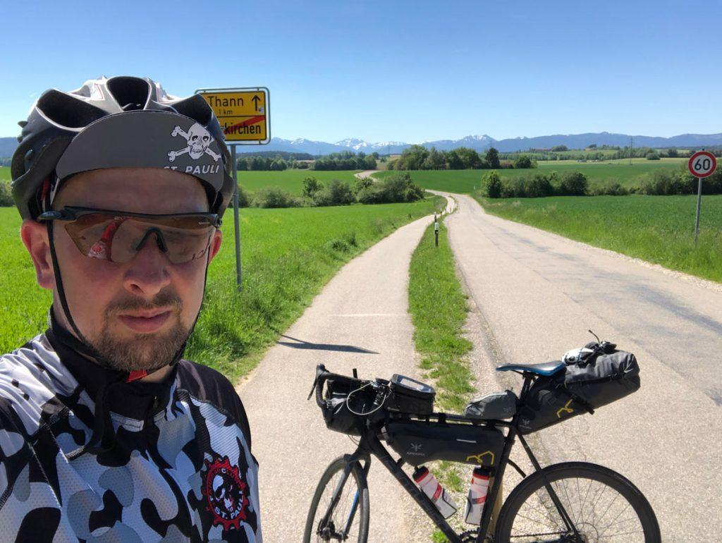 Bikepacking Selfie