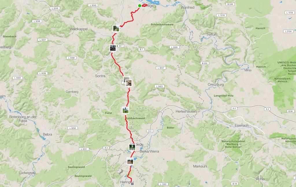 Von Eschwege nach Heringen
