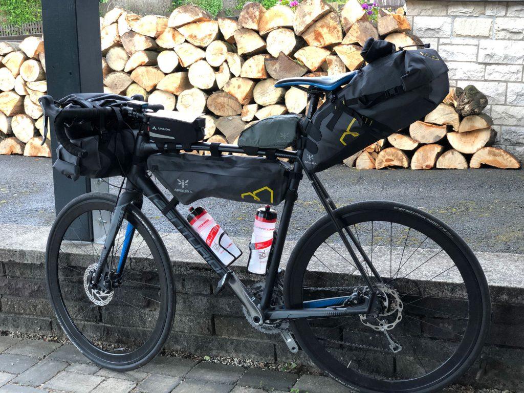 Lamspringe - Eschwege Das Gepäck ist wieder verstaut