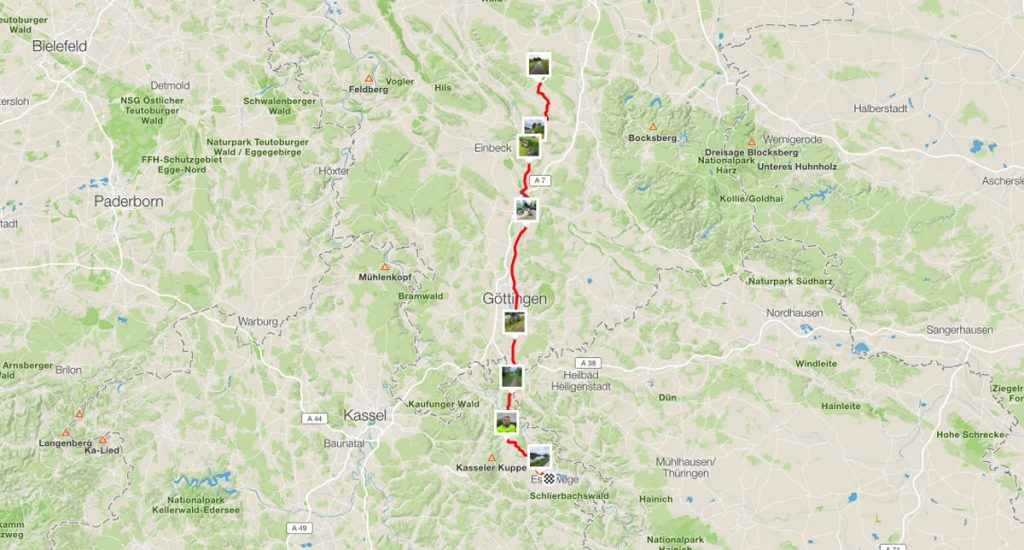 111 km - Lamspringe - Eschwege