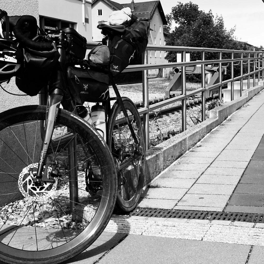 Am Bahnhof in Füssen