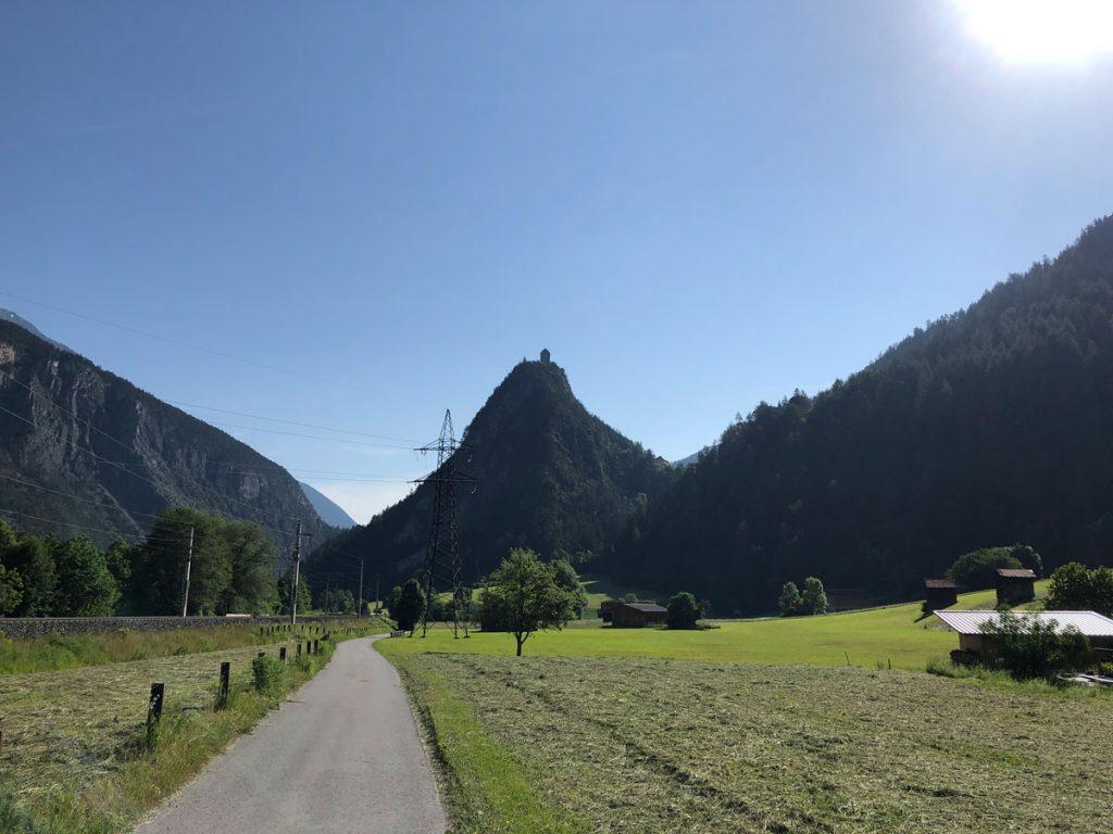Die Natur zaubert schon lustige Berge