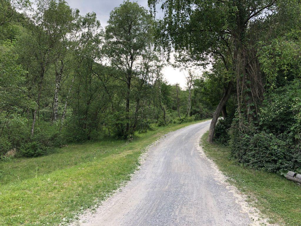 Heute gab's mehr Gravel als Road
