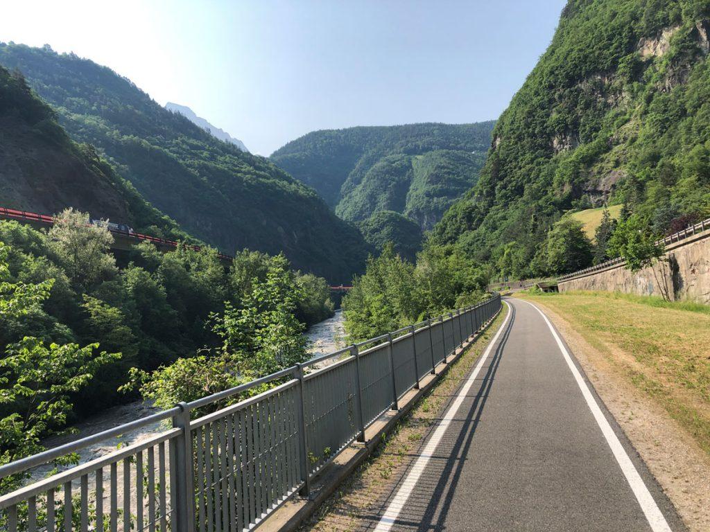 Nur schöne Radwege