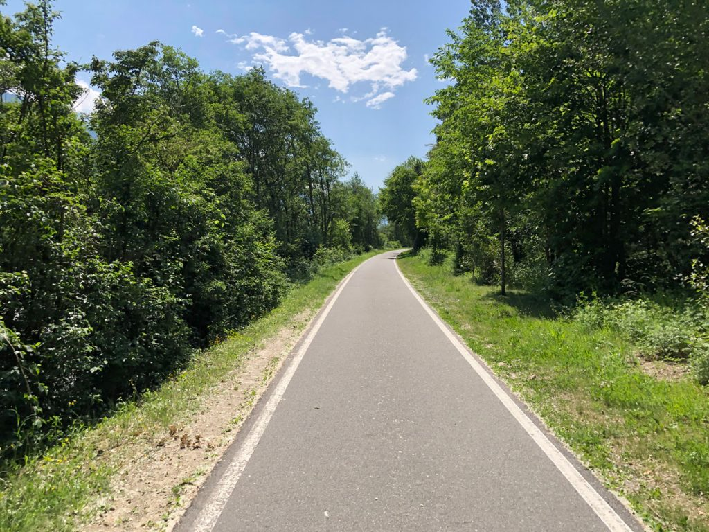 und immer noch schöne Radwege