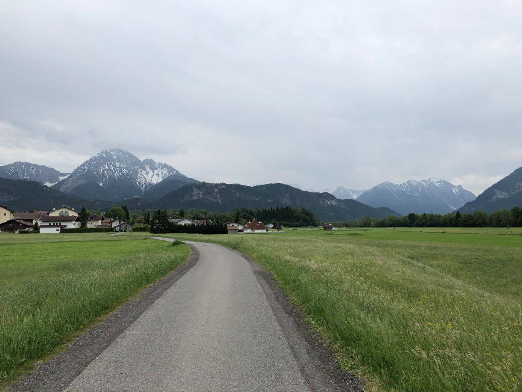 Die letzten paar Hügel