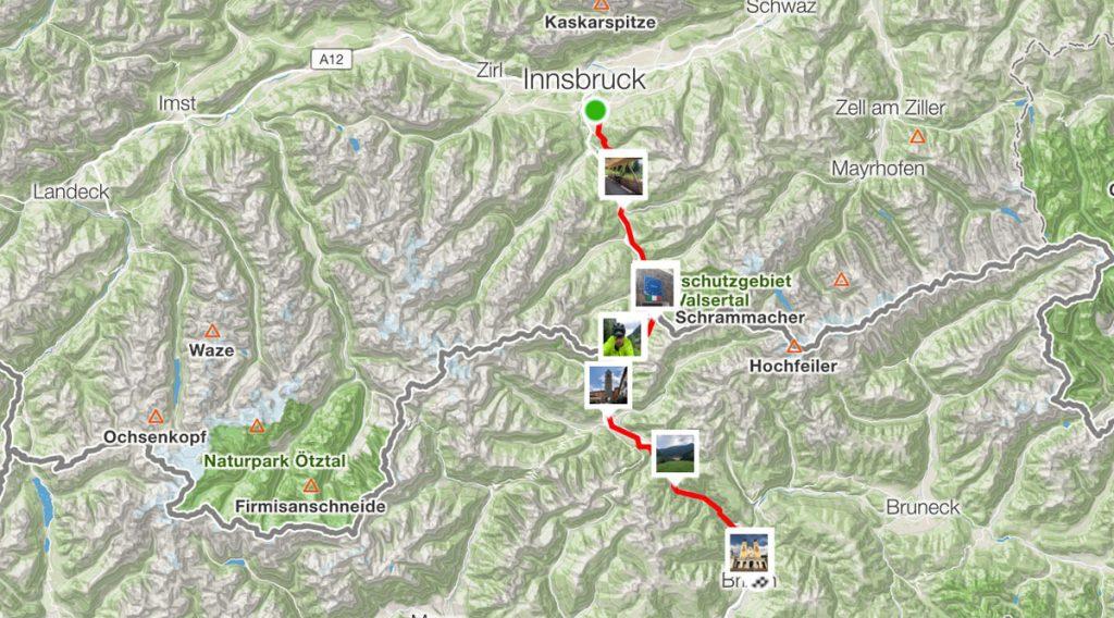90 km - Von Innsbruck nach Brixen