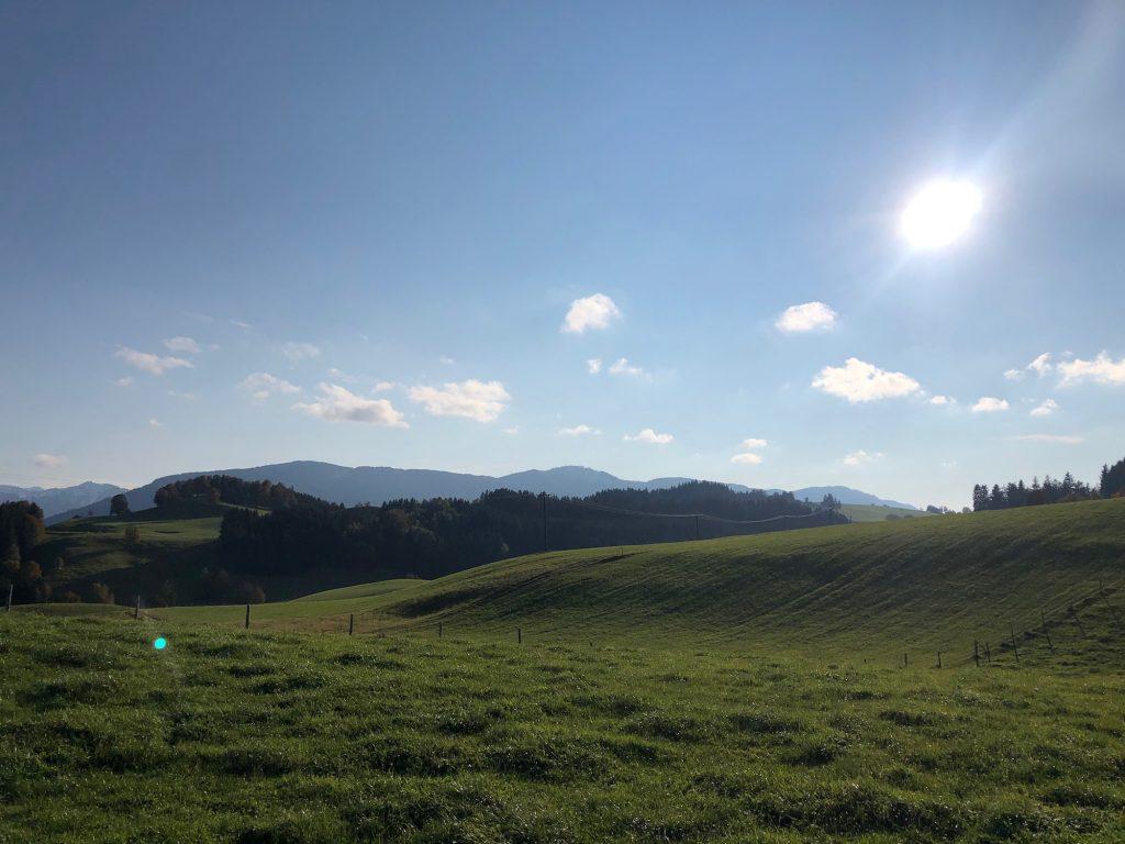 Einsame Berglandschaft