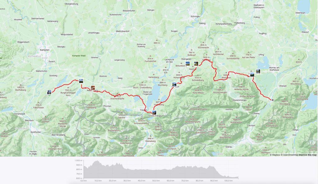 Etappe 2 - 107 km