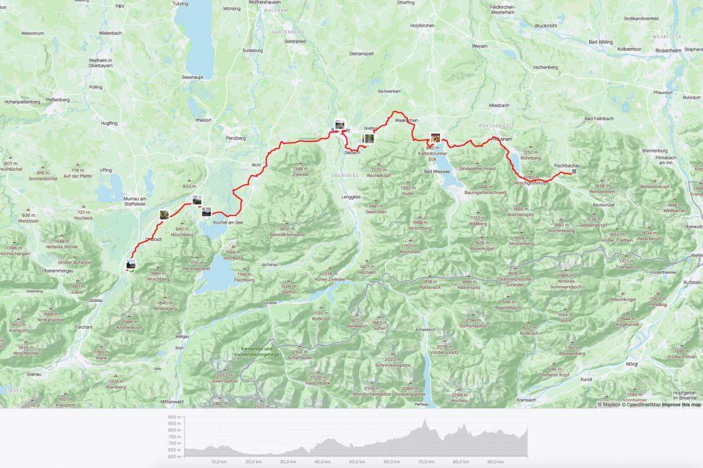 Etappe 3 - 100 km