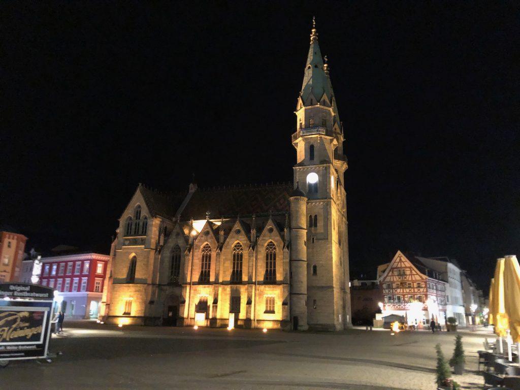 Kirche in Meiningen
