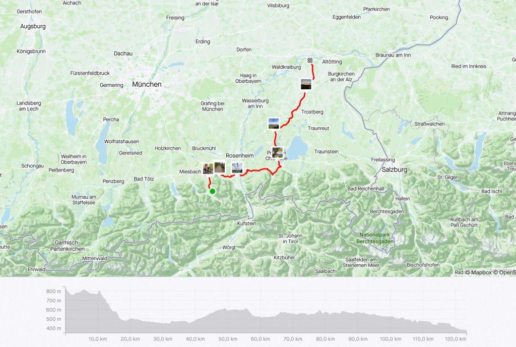 Etappe 4 - 123 km