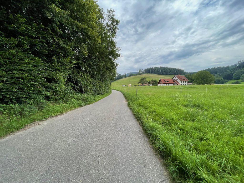 Schöne Radwege aus der Stadt heraus