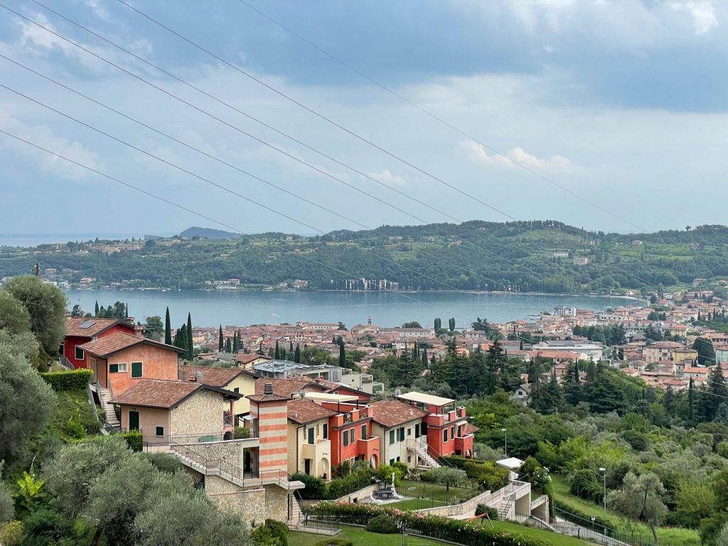 Ausblick auf den Garda See
