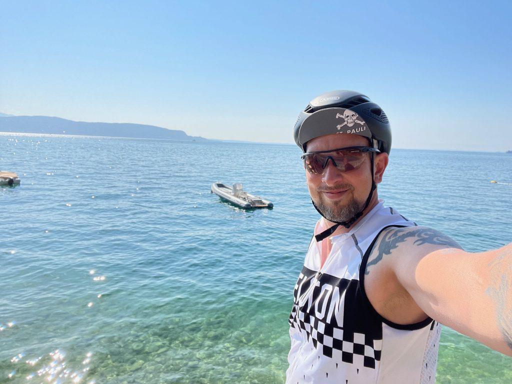 Selfi am Ufer