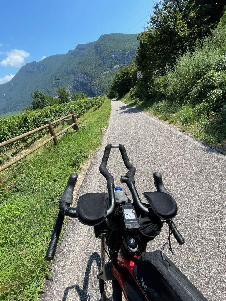 Die schönen Radwege in Südtirol