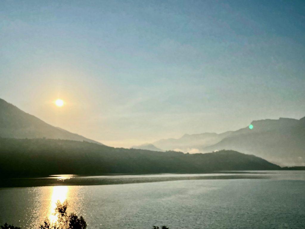 Sonnenuntergang am Lago di Caldonazzo