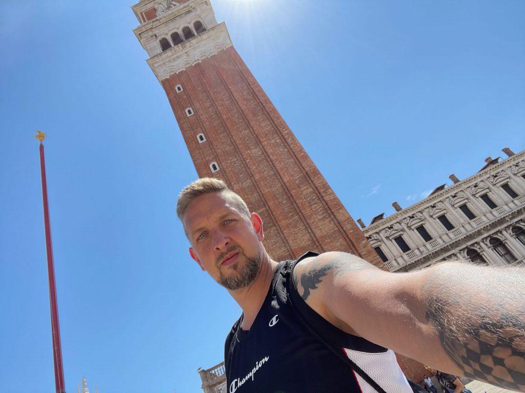 Ray in Venedig