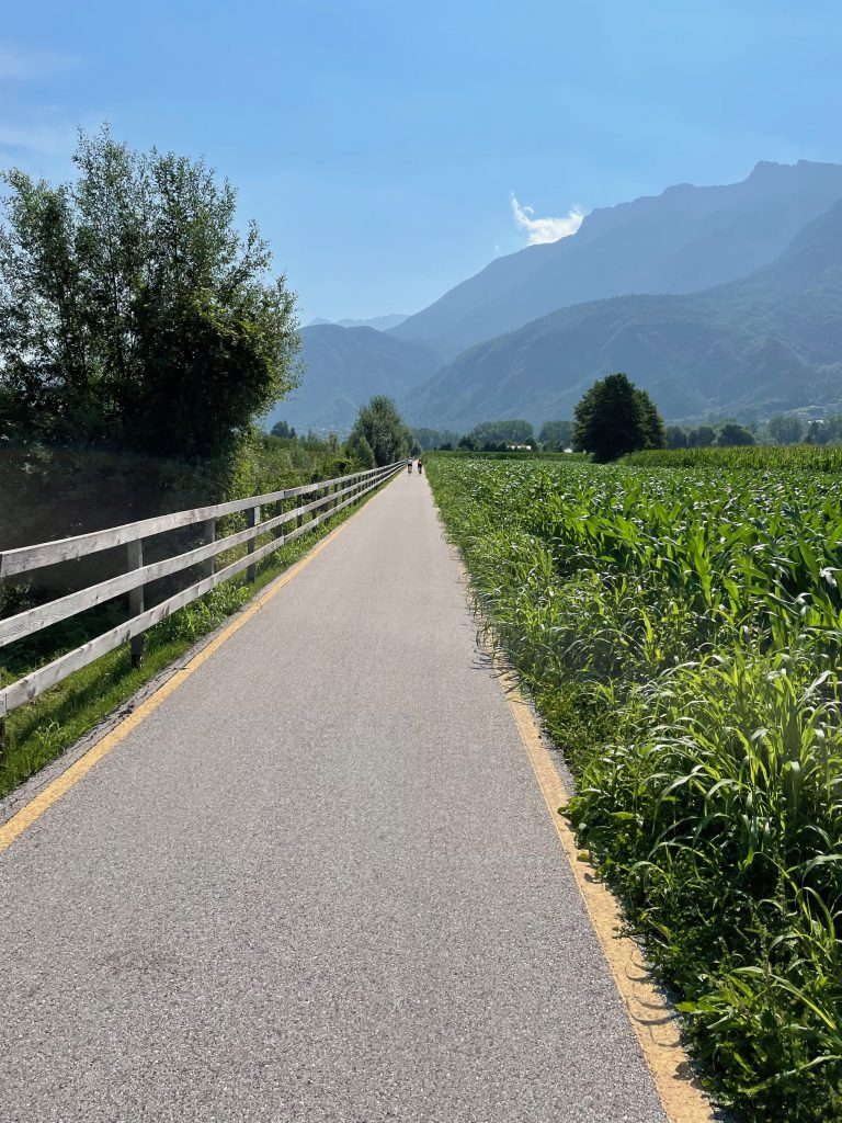 Radwege hinter Caldonazzo
