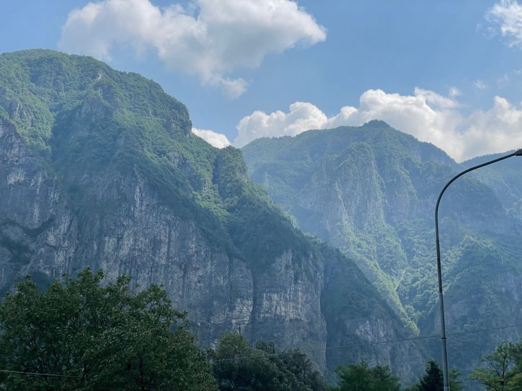 Berge ...
